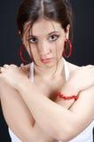 Position de fille photographie stock libre de droits