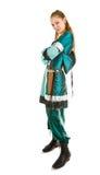 position de fille d'elfe photographie stock libre de droits
