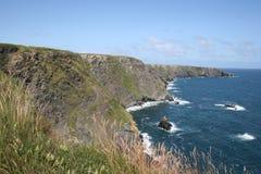 position de l'Irlande du comté de liège de falaises Photo stock