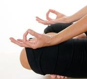 Position de main de méditation Image libre de droits