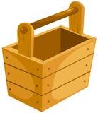 Position en bois illustration libre de droits
