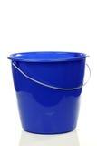 Position en plastique bleue vide de ménage photo libre de droits