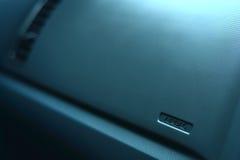 Position für Airbag lizenzfreies stockbild