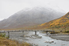 Position norvégienne Images libres de droits