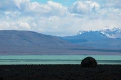 Position Patagonian Image libre de droits