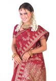 position riche de maintien indien de jewelery de fille image libre de droits