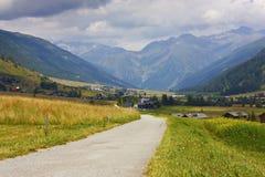Position suisse d'Alpes image libre de droits