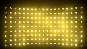 Positionieren Sie Leuchte stock video