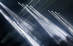 Positionieren Sie Leuchten lizenzfreie stockfotografie