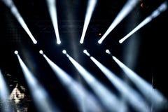 Positionieren Sie Leuchten Stockfotos