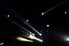 Positionieren Sie Leuchten Stockfoto