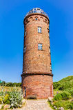 Positioning tower on Rugen. Cape Arkona on Rugen island in Germany Royalty Free Stock Image