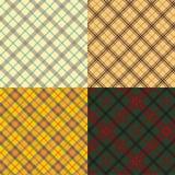 Positionnement écossais de tartan Image stock