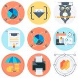 Positionnement campant de graphisme Photographie stock libre de droits