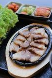 Positionnement coréen de nourriture photographie stock