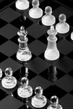 Positionnement d'échecs Images stock