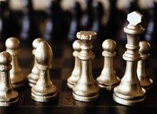 Positionnement d'échecs Image libre de droits
