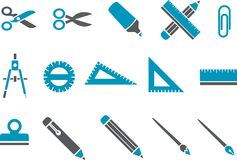 positionnement d'école de graphisme Image stock