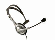 Positionnement d'écouteur Image libre de droits