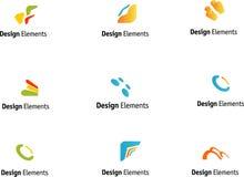 Positionnement d'éléments de conception Image libre de droits