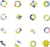 Positionnement d'éléments de conception. Image stock