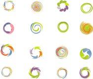 Positionnement d'éléments de conception. Image libre de droits