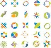 Positionnement d'éléments de conception. Images stock
