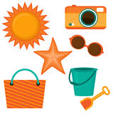 Positionnement d'été Photographie stock libre de droits