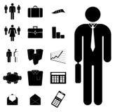Positionnement d'affaires illustration de vecteur