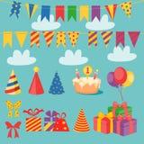 Positionnement d'anniversaire Photos stock