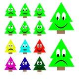 Positionnement d'arbre de Noël Image libre de droits