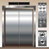 Positionnement d'ascenseur Photos libres de droits