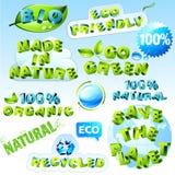 Positionnement d'Eco Image libre de droits