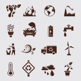 Positionnement d'Eco Photos stock