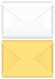 Positionnement d'enveloppe Images libres de droits