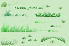 Positionnement d'herbe verte Photos libres de droits