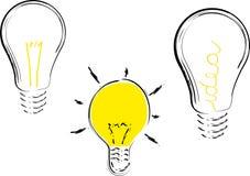 Positionnement d'idée Images libres de droits