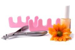 Positionnement de beauté de Pedicure Photographie stock
