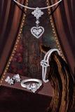 Positionnement de bijou Image libre de droits
