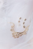 Positionnement de bijou de mariage Photo stock