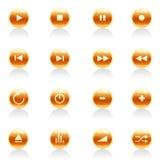 Positionnement de bouton de dispositif   Image libre de droits