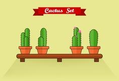 Positionnement de cactus Photos stock