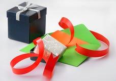 Positionnement de cadeau Image stock