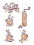Positionnement de café Images libres de droits