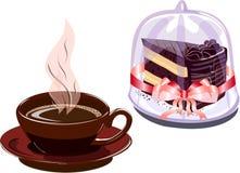 Positionnement de café. Photo stock