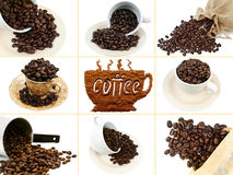 Positionnement de café Photo stock