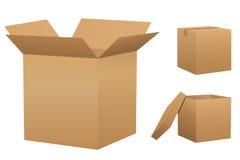 positionnement de carton de cadres Photos stock