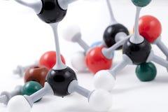 Positionnement de chimie de structure de molécule Image libre de droits