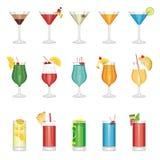 Positionnement de cocktail illustration stock