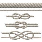Positionnement de corde Photographie stock libre de droits